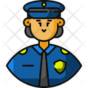 Police Police Woman Avatar Icon