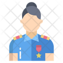 Police Woman Woman Cop Lady Police Icon