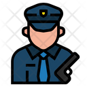 Policeman Job Avatar Icon