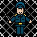 Policeman Officer Avtar Icon