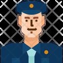 Occupation Avatar Policeman Icon