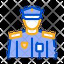 Policeman Profession Professions Icon
