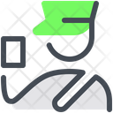 Check Customs Officer Icon