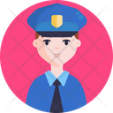 Police Man Security Icon