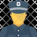 Policeman Cop Constable Icon