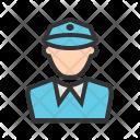 Police Man Avatar Icon