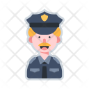 Policeman Police Avatar Icon