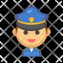 Policeman Avatar Profession Icon