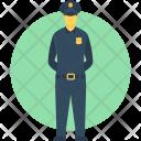 Policeman Constable Officer Icon