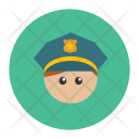Policeman Police Officer Icon