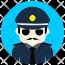 Policeman Police Man Icon