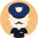 Police Man Policeman Icon