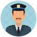 Policeman Police Chief Icon