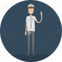 Policeman Police Security Icon