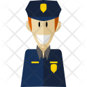Policeman Professional Worker Icon