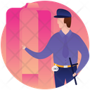 Officer Policeman Authority Icon