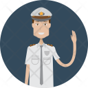 Policeman Character Profession Icon