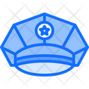 Policeman Cap Uniform Icon