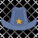Police Man Head Icon