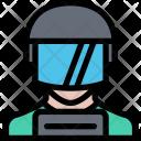 Policeman Law Crime Icon