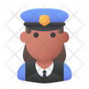 Policewoman Guard Police Icon