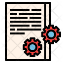 Policy Rule Data Icon