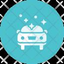 Polish Clean Car Icon
