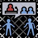 Politic Discuss Talk Icon