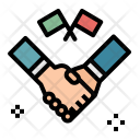 Agreement Flags Gestures Icon
