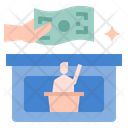 Political Contributions Political Party Donation Donate Icon