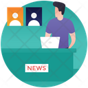Political News Public Speaking Political Speech Icon