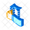 Political Puppet Isometric Icon