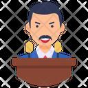 Politician Statesman Legislator Icon