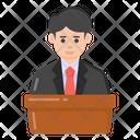 Political Leader Politician Statesman Icon
