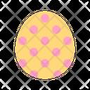 Polkadot egg Icon