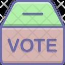 Polling Box Voting Icon