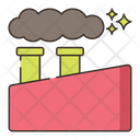Pollutants Industry Air Pollution Icon