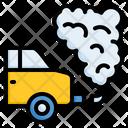 Pollution Smoke Car Icon
