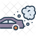 Pollution Carbon Chimney Gas Icon