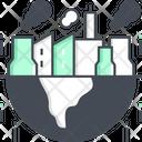 Pollution Contamination Factory Icon