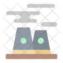 Pollution Nuclear Science Icon