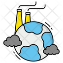 Pollution Industry Waste Icon