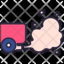 Car Smoke Air Icon