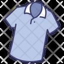 Polo Collar T Shirt Icon