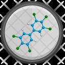 Polychlorinated Biphenyl Molecule Icon