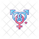 Polyamoros Symbol Icon