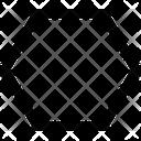 Shape Polygon Design Icon