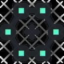 Polygon Vector Design Icon