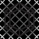 Polygonal Diamond Jewelry Icon