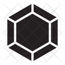 Polygonal Diamond Jewelry Icon